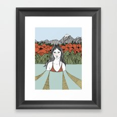 In the Thick of it All Framed Art Print