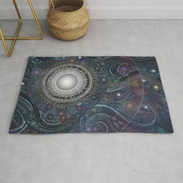 Feather Moon Rug