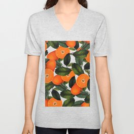 The Forbidden Orange #society6 #decor #buyart Unisex V-Neck