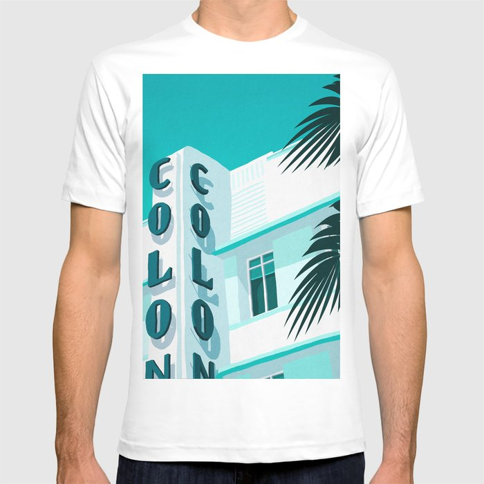 Colony Hotel Miami Beach T Shirt