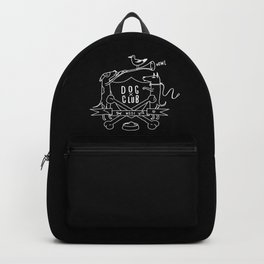 Dog Club B&W Backpack