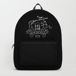 Dog Club B&W Backpack