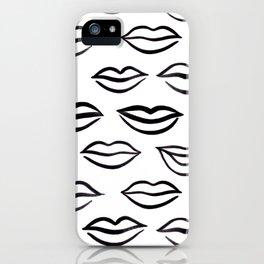 Lips galore iPhone Case