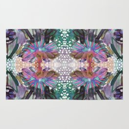 Psychedelic Positive Notes Mini Rug