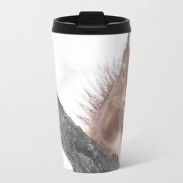 Little squirrel - smack! Travel Mug