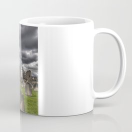 St. Mary's Church in Whitby on the Yorkshire Coast in England Coffee Mug