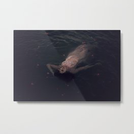 beauty in the water Metal Print
