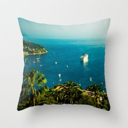 Côte d'Azur Throw Pillow