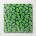 Monstera leaves, tropical watercolor pattern by katerinamitkova