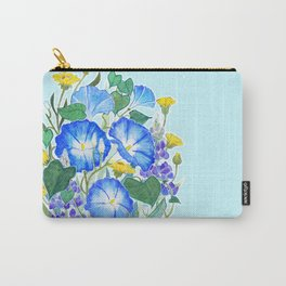 Morning Glory Ikebana Carry-All Pouch
