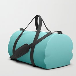 Quetzal Green Ombre Gradient Pattern Duffle Bag