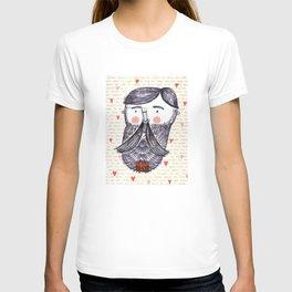 Bearded Lumberjack Man T-shirt