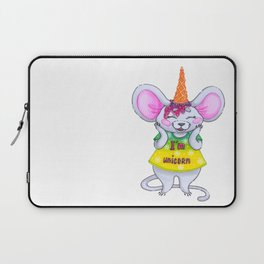 Funny mouse Laptop Sleeve