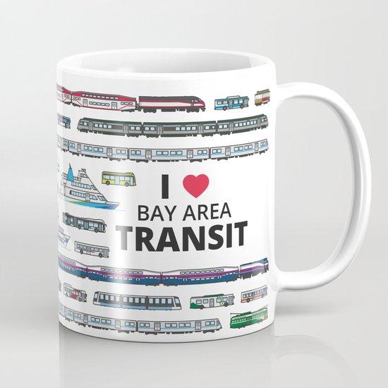 The Transit of the Bay Area Mug