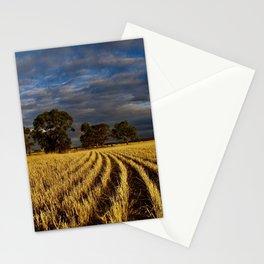Golden Harvest Stationery Cards