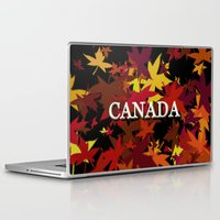canada Laptop & iPad Skins featuring Canada by megghan18