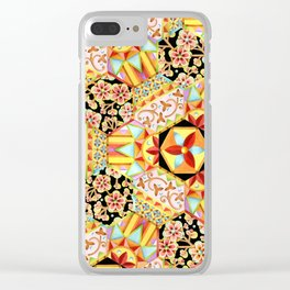 Gypsy Patchwork (printed) Clear iPhone Case