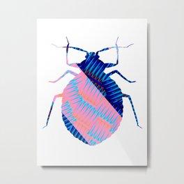 Global Beetles Day... oops... Metal Print