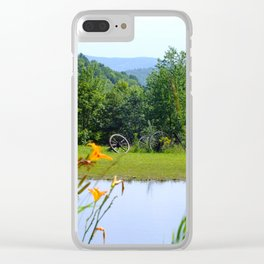 picturesque Clear iPhone Case