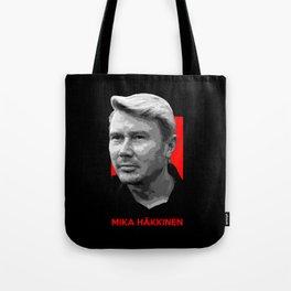 Formula One - Mika Hakkinen Tote Bag