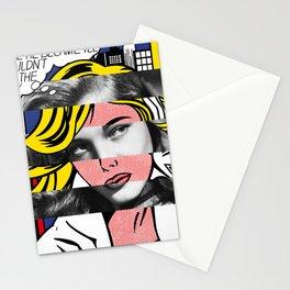 Roy Lichtenstein's M-Maybe & Lauren Bacall Stationery Cards