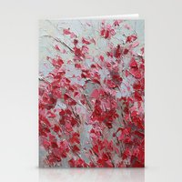 sakura Stationery Cards featuring Sakura by Ann Marie Coolick
