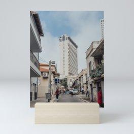 Tel Aviv Neve Tzedek Mini Art Print