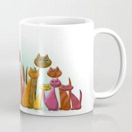 The Vector Cats Coffee Mug
