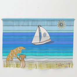 Another Day in Paradise Wall Hanging