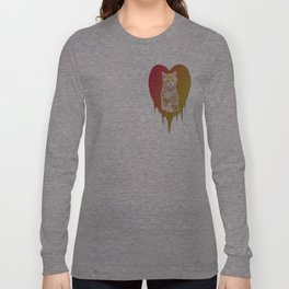 Cat in your heart Long Sleeve T-shirt