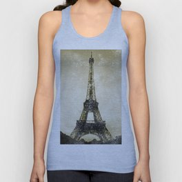 Paris Flea Market Unisex Tank Top