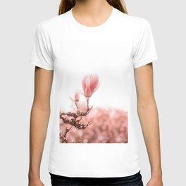 spring magnolia tree T-shirt