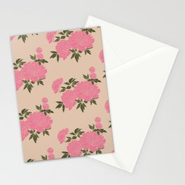 Peonia 4 Stationery Cards