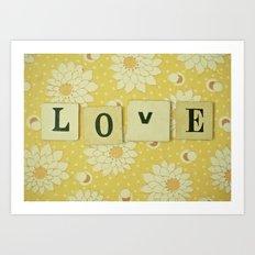 Love No.4 Art Print