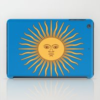 argentina iPad Cases featuring argentina flag sun by ArtSchool