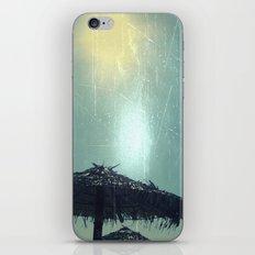 Umbrella On The Beach iPhone & iPod Skin