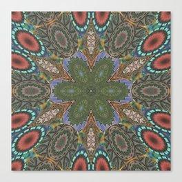 Mandalic Patchwork 2a Kaleidoscope Canvas Print