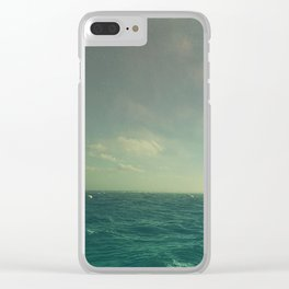 Limitless Sea Clear iPhone Case