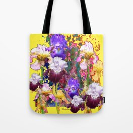 Decorative Blue-Red Spring Yellow & Tote Bag