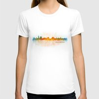 islam T-shirts featuring Jerusalem City Skyline Hq v3 by HQPhoto