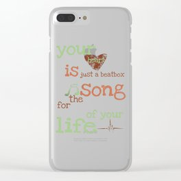 Beatbox Clear iPhone Case