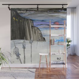 Impaled Wall Mural