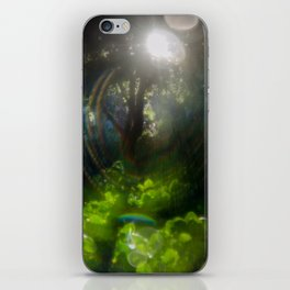 Rainbow Flare (Magic Garden Series) iPhone Skin