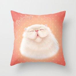 Brimley Smiling Throw Pillow