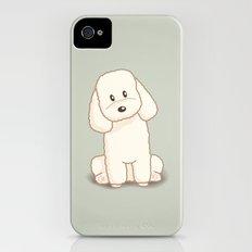 Toy Poodle Dog Illustration Slim Case iPhone (4, 4s)
