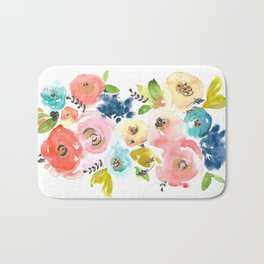 Floral POP #2 Bath Mat
