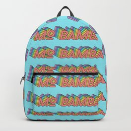 MO BAMBA - Print and Wall Paper Pattern Pop Art Backpack