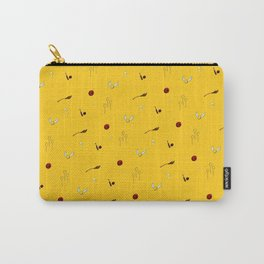 Quidditch Pattern - Hufflepuff Carry-All Pouch