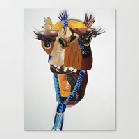 camel Canvas Prints featuring Camel by Ruud van Koningsbrugge