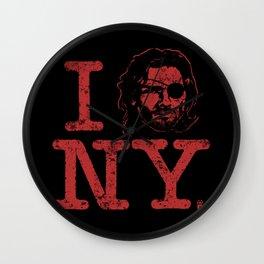 I (Snake) NY Wall Clock